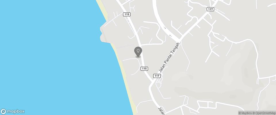 Map for Sunset Beach Resort