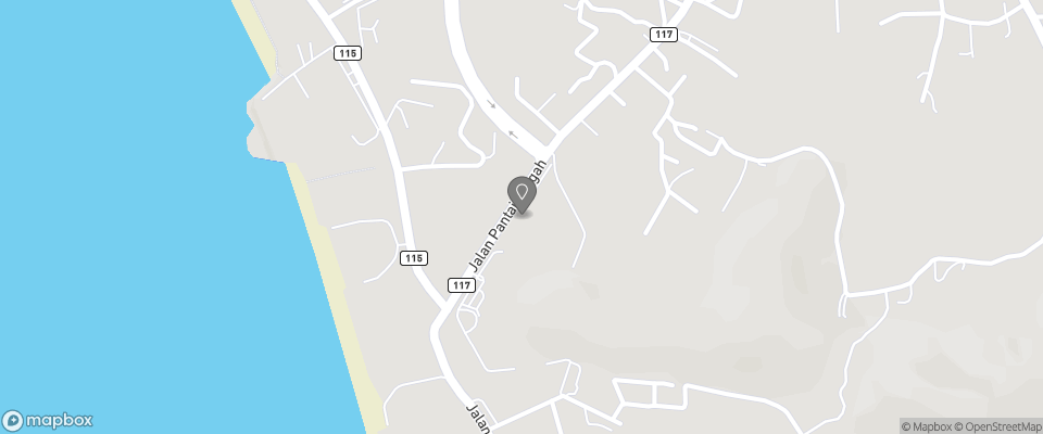 Map for Favehotel Cenang Beach