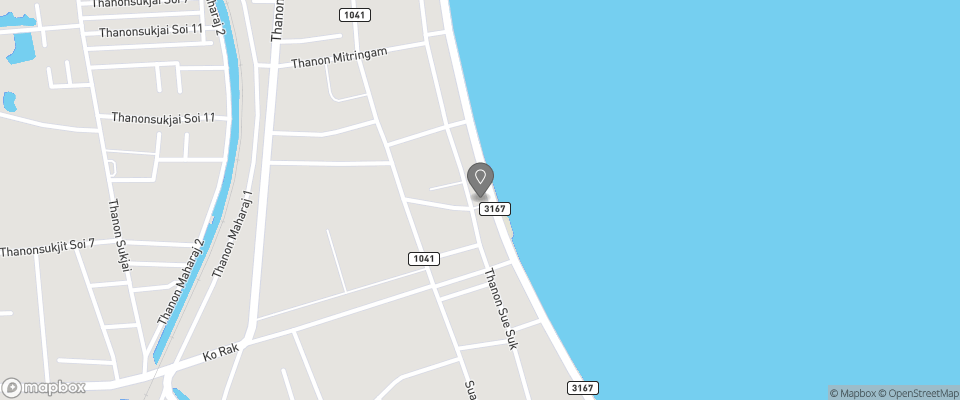 Map for Prachuap Beach Hotel