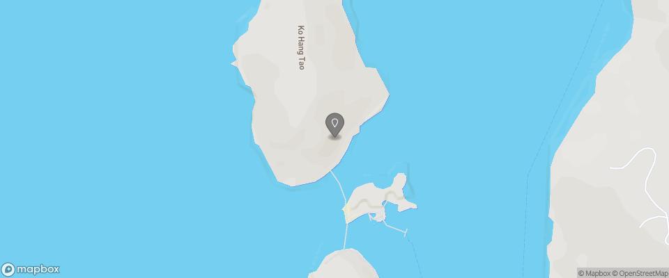 Map for Nangyuan Island Dive Resort