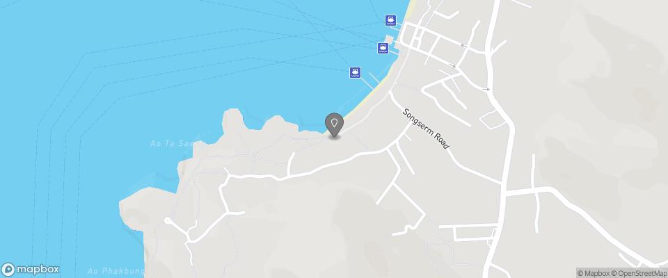 Map for Sensi Paradise Beach Resort