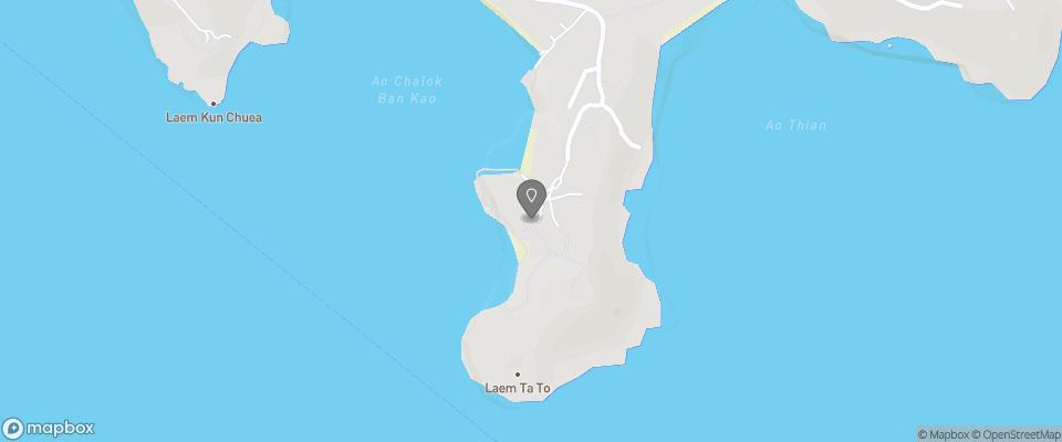 Map for Taa Toh Resort and Freedom Beach Resort