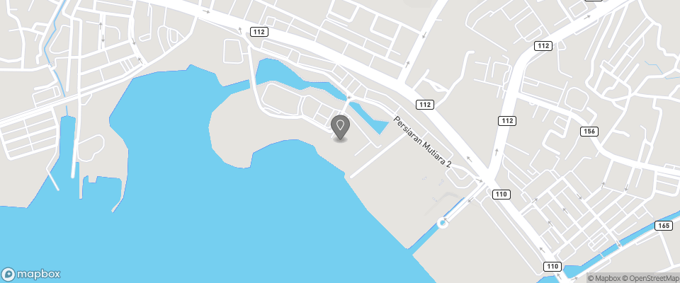 Map for Bella Vista Waterfront