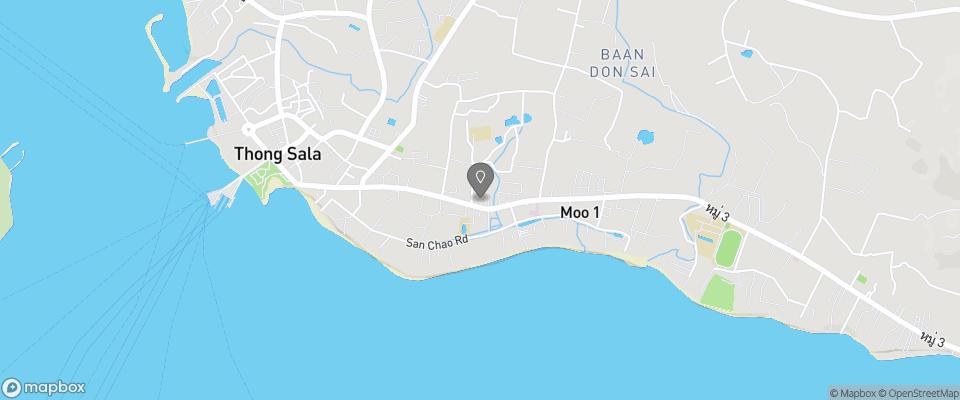 Map for Phangan Island View Hotel